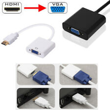 1080P Adapter AUX HDMI Male to VGA Female Video Cable Cord Converter For PC HDTV