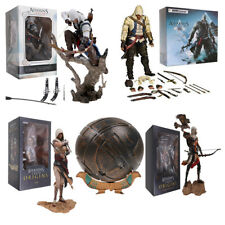 "10"" Game Assassin's Creed Origins Bayek with Eagle 25cm PVC Action Figure Model"
