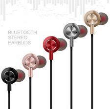 Wireless Bluetooth Sport Sweatproof Headphones Earphones Stereo Headset With Mic