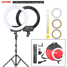 LED Dimmable Ring Light With Stand Makeup Youtube Video Photography Lighting