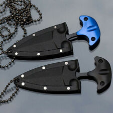 1PcsEDC Mini Double Edge Dagger Fixed Knife Camping Outdoor Survival Blade Tools