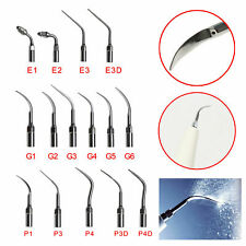 Dental Endo Perio Tips Ultrasonic Scaler Scaling Insert EMS Woodpecker 15 Type