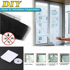 Net Insect Window Screen Fly Bug Mosquito Moth Door Netting Mesh Screen Sticky