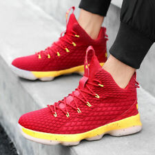 Men's Retro 15 Sport Sneaker Basketball Shoes Boots High Top Athletic Breathable