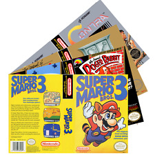 Nintendo NES (M-P) Re*placement C-a-s-e & Art+Work