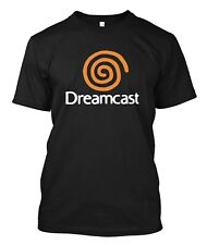 Dreamcast Sega  - Custom Men's Black T-Shirt Tee