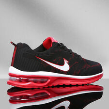Men's Air Cushion Sneakers Flyknit Sports Running Shoes Jogging Breathable Shoes