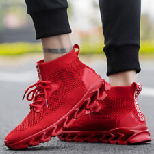 Size 39-47 Casual Springblade Sneakers High-top Sports Walking Shoes Breathable