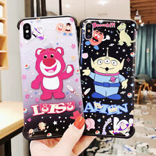Hot Cute Alien Silicone Phone Case Cover For iPhone X XS Max XR 6 7 8 Plus