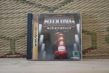 The King of Boxing Sega Saturn SS Japan Very Good Condition!