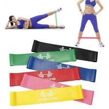 Rubber Resistance Bands Fitness Workout Elastic Training Pilates. For Yoga S9C0