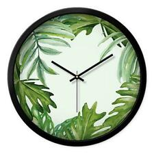 New Plant Living Room Wall Clock Creative Minimalist Large Decorative Wall Clock