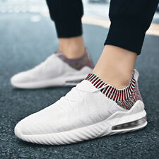 Mens Air Cushion Athletic Shoes Lightweight Sports Running Shoes Mesh Breathable