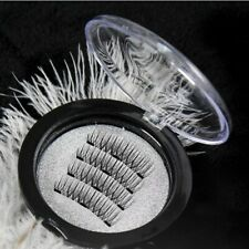 Triple Magnetic Eyelashes Reusable Full Eye False Eye Lashes Extension 4Pcs/Set