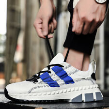 Men's Retro Casual Sneakers Sports Running Walking Shoes Fashion Mesh Breathable