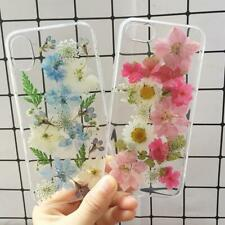 Real Dried Flower Handmade Phone Cases For iPhone X XS Max XR 6 6S 7 8 Plus Case