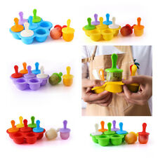 Silicone Ice Cream Sticks Mold Summer DIY Juice Frozen Popsicle Maker Moulds