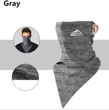 Summer Face Scarf Mask - Dust, Sun Protection Neck Gaiter Breathable