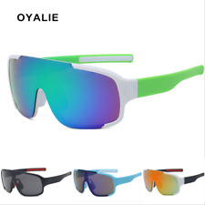Men Women Large Frame Sunglasses Outdoor Fishing Cycling Windproof Goggles New