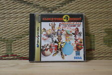 Clockwork Knight 1 Sega Saturn SS Japan Very Good Condition!