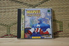 *In Stock* Marvel Super Heroes Sega Saturn SS Japan Very Good+ Condition!