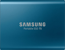 Artikelbild Samsung T5 Portable SSD 250GB Solid State Drive SSD Oceanblue