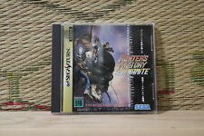 Fighters History Dynamite Sega Saturn SS Japan Very Good Condition!