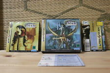 *Authentic* Azel Panzer Dragoon RPG w/spine table Sega Saturn SS Japan VG!