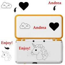 Case New 3DS XL 3DS XL New 2DS XL Personalised Surname Dragon Unicorn Panda