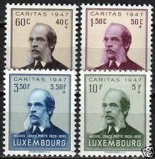Luxembourg 1952 YV 461-464  MNH VF