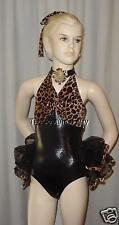 SASSY CAT Leopard Jazz Tap Dance Costume SIZE CHOICES