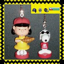 PEANUTS CHARACTERS CEILING FAN PULLS (2 FIGURES) SNOOPY, CHARLIE, LUCY, ETC...