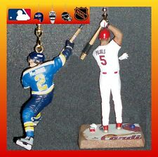ST. LOUIS SPORT TEAMS CEILING FAN PULLS (CARDINALS OR RAMS OR BLUES PLAYERS)