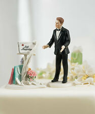 WEDDING HUMOROUS MESSAGE BOARD / GROOM CAKE TOPPER TOPS
