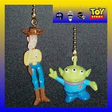 DISNEY TOY STORY MOVIE CHARACTER CEILING FAN PULLS-CHOOSE 2 FROM WOODY, JES, ETC