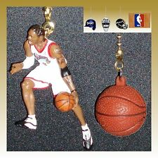 NBA PHILADELPHIA 76ERS FIGURE & CHOICE OF LOGO OR NBA STYLE BASKETBALL FAN PULLS