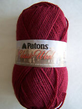 Patons Classic Wool Yarn 1 Skein Selected Colors