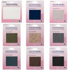 Lightweight PolyCotton Iron On Mender Fabric.Patch.Repa