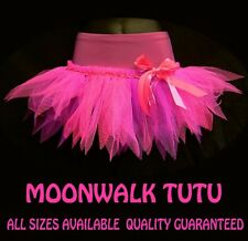 PINK TUTU MINI SKIRT UK 6-28 DANCE MOONWALK FANCY DRESS PARTY COSTUME HEN NIGHT