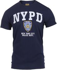 Navy Blue NYPD Officially Licensed T-Shirt