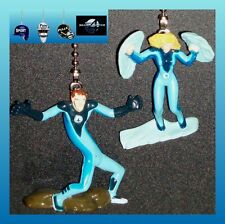 MARVEL COMICS FANTASTIC 4 FIGURES CEILING FAN PULLS- MR. FANTASTIC, TORCH, ETC..