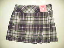 GYMBOREE DANCE TEAM MULTI COLOR PLAID WOVEN SKORT 3 4 6 7 8 10 12 NWT