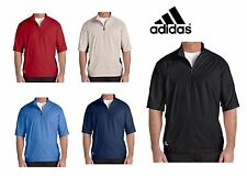 ADIDAS GOLF Mens S-XL 2XL 3XL Climaproof Short Sleeve Wind shirt Jacket Top