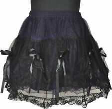 GOTHIC SHORT SKIRT PROM CHRISTMAS PARTY WEAR PUNK 1530