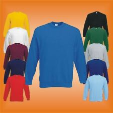 Set In Sweatshirt Fruit of the Loom Pullover S - XXXL