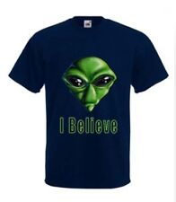 Extra Terrestrial Alien T-Shirt in 4 Colour &  any size