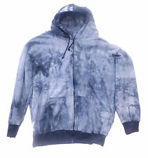 Big Tie Dye Hooded Zipper Sweatshirts Medium - 12XB