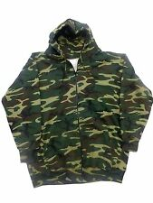 Tall Camo Zipper Hooded Sweatshirts LT - 10XLT Big and Tall Made in USA