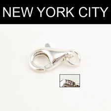11mm Sterling Silver 925 Lobster Claw Trigger Clasp