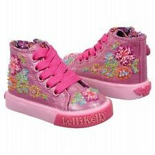 Lelli Kelly LK9459 Candy Baby Pink Boot shoes NEW bootie lace zipper hand beaded